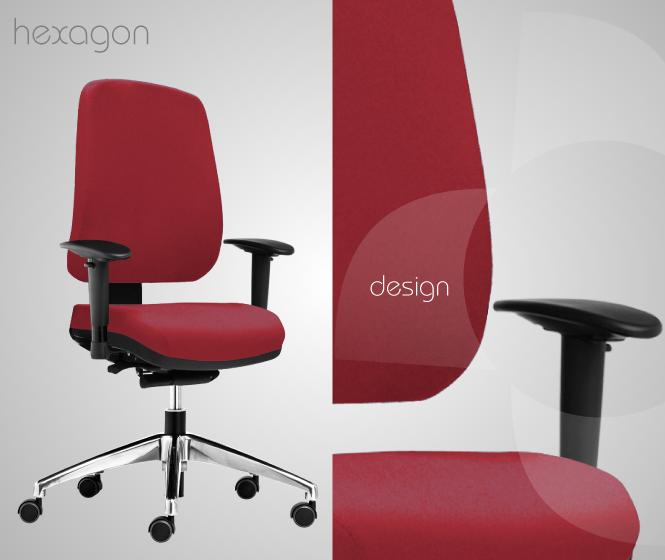 Detalhe da cadeira Hexagon